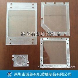深圳有机玻璃仪器面板 亚克力机械配板 防护挡板