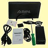 3.5寸台式机串口硬盘用转换为USB移动硬盘盒 - 2(U35E)
