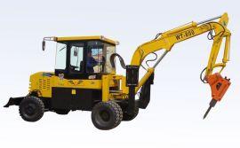 WT-800型小型轮式挖掘机