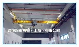 上海厂家直销1t欧式悬挂单梁起重机悬挂行车吊车悬挂端梁倒挂行车
