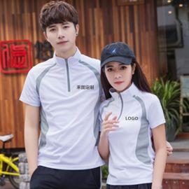 时尚户外新款羽毛球服装男女短袖夏速干乒乓球网球运动服装定制