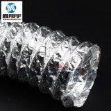 优质铝箔复合软管/双层铝箔风管/铝箔伸缩高温风管/高温风管51mm