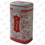 方形鐵製茶葉包裝罐