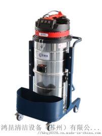 大功率工业吸尘器, 220V工厂车间吸铁屑颗粒油污  吸尘器