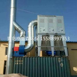 山东木工中央集尘器,木工车间中央集尘系统