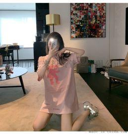 2020夏季女装新款连衣裙女韩版外贸上衣中长款裙子