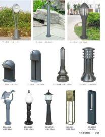 不锈钢草坪灯黑色庭院灯别墅景观灯花园灯户外防水LED草地灯