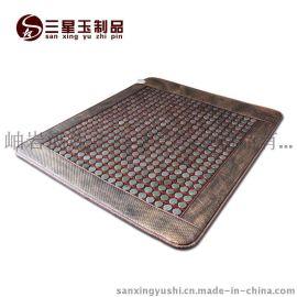 三星网面玉石床垫 远红外加热床垫 保健床垫 1.5*1.9双温双控床垫