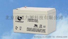 光盛12ah电瓶价格/光盛12V12AH/6GFM-12蓄电池报价尺寸现货销售