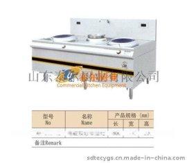 泰尔电磁双炒单温灶全国招商 净化设备 烧烤设备 厨房设备