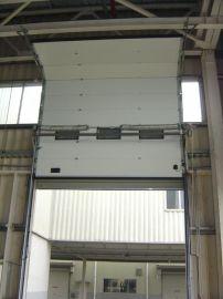 广东工业提升门供应商  电动垂直滑升门价格