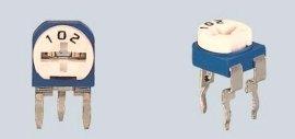 蓝白立式 卧式可调电阻器