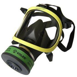 全面罩防毒面具 过滤式防粉尘面具 AH安航头套式防重烟面罩
