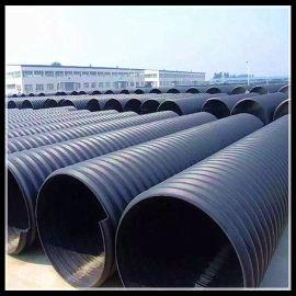 HDPE大口径钢带管河北腾达直销