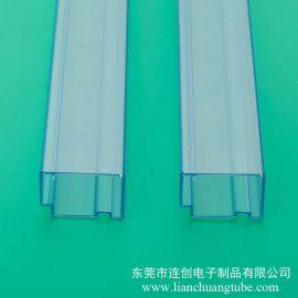 广东连接器料管厂家 不易**高透明度PVC包装管 厂家专业定做