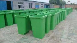 献县环卫设备生产厂家 240升挂车垃圾桶