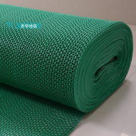 S型酒店游泳池防滑地垫桑拿房澡堂浴室洗手间镂空PVC防滑地垫