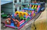 大型户外闯关游乐设备 组合充气滑梯 郑州游乐佳充气弹跳床