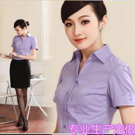 夏季短袖职业装衬衫时尚女式韩版ol工作服正装商务