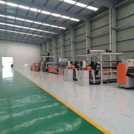 PET吸塑片材生产线/PET折盒片设备/透明片材生产线
