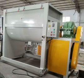 天津三创200KG塑料颗粒横式混料机  卧式搅拌机保修一年厂家