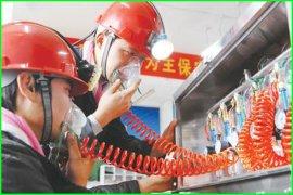 供应压风供水自救装置, 压风施救装置, 双供自救器