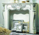 1米/1.2米 欧式白色 电壁炉 取暖 实木 装饰柜 壁炉芯