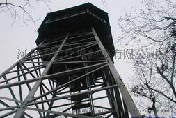 铁塔厂家供应林业防火了望塔 森林防火了望台 森林防火监控了望塔 了望台价格图片