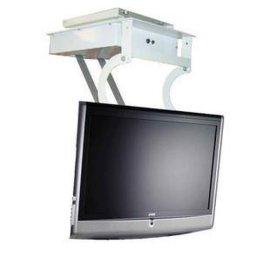 广州晶固JG55无线遥控自动升降等离子LCD液晶电视天花翻转器吊架
