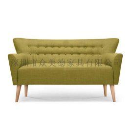 一般沙发价格|欧式布艺沙发|咖啡厅家具厂家众美德