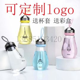 玻璃灯泡杯厂家 广告礼品杯