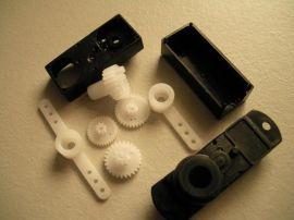 厂家直销航模齿轮 塑胶舵机伺服器 来图来样定制 专业改模开模