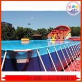 大型室外水上樂園設備移動支架水池兒童成人游泳池充氣水上滑梯