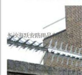 阳台防攀爬刺钉,管道防爬刺钉厂家上门包安装价格