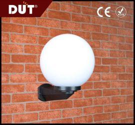恒恩灯饰 GD001-B-W1 户外亚克力圆球罩壁灯