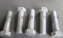 厂家生产热镀锌 热渗锌螺栓 螺母 任意长度均可定做
