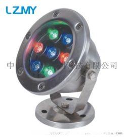 LED水底灯,水下投光灯,七彩水下喷泉灯