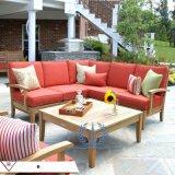户外沙发 庭院 室外木质沙发椅组合 菠萝格沙发椅