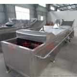 四喜丸子蒸煮機全自動肉丸子流水線