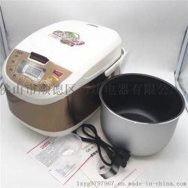 江湖礼品小家电 欧闻电器智能电饭煲 家用5L大容量电饭煲