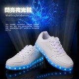 外貿工廠直銷新款發光鞋 led七彩充電燈光熒光鞋女休閒男士板鞋