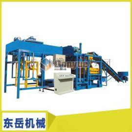 东岳QT4-15S混凝土砌块成型机更换模具可生产多种砖