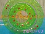 大型充气水上滚筒球/移动水上球/儿童水上滚筒球