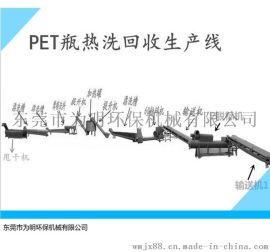 畅销品牌为明PET生产线设备【PET矿泉水瓶回收破碎清洗生产线】