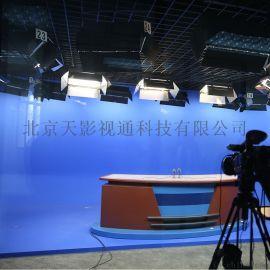 虚拟蓝箱演播室灯光 绿箱背景 专业高清抠像主机