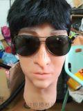 智能机器人高仿真硅胶面具,头套 影视道具 表演道具