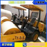 腾宇机械3吨半单钢轮座驾压路机厂家直销