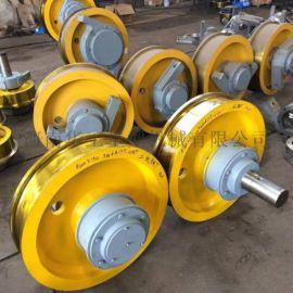 φ500主动车轮组 行车起重机车轮组 锻钢车轮组