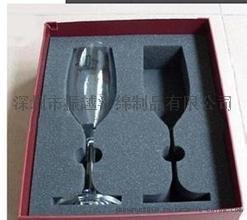 玻璃酒杯防震海绵包装盒内衬加工款式齐全