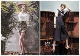 品牌折扣服装贝勒川进货渠道哪里找 广州明浩折扣女装